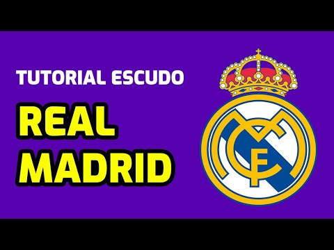 Tutorial ''Logo REAL MADRID en gomaeva''
