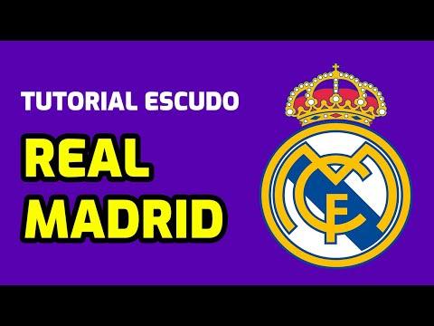 Tutorial ''Logo REAL MADRID en gomaeva''