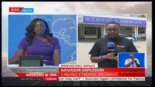 Weekend at One: Caroline Bii reports from Kenyatta National Hospital on victims being flown in