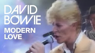 David Bowie   Modern Love (Official Video)