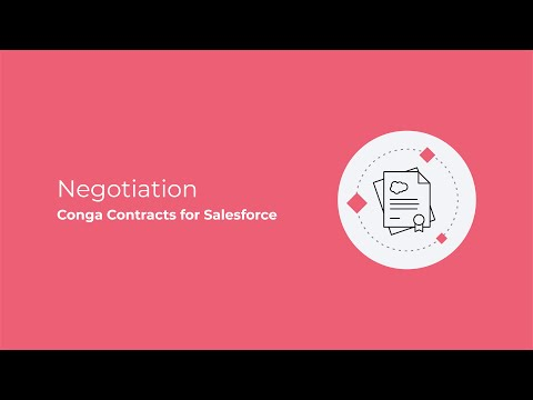 Contracts for Salesforce - negotiation - YouTube