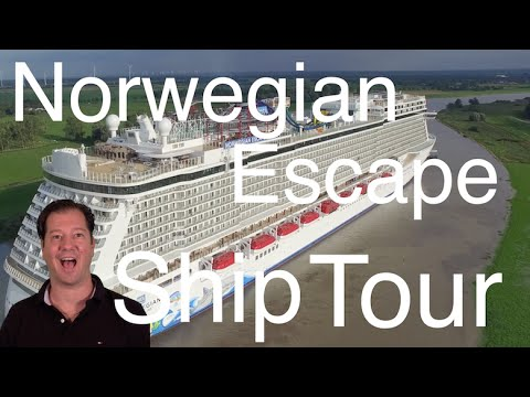 Norwegian Escape Review – Full Walkthrough – Ship Tour – Norwegian Cruise Line