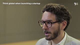 Think global when launching a startup