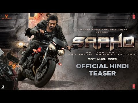 Saaho - Movie Trailer Image
