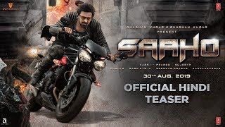Saaho - Official Hindi Teaser Trailer