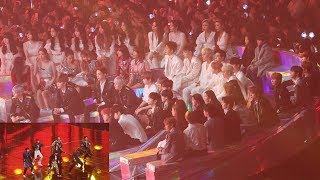"IDOLS Reaction To ""BTS IDOL"" (방탄소년단 무대 보는 블랙핑크,워너원,여자친구,마마무,아이콘,여자아이들,더보이즈) 4K 직캠 By 비몽"