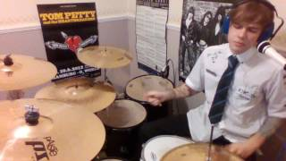 Tom Petty Dark of the sun Drums & Vocals cover