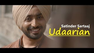 Udaarian   Satinder Sartaaj   Lyrics   Jatinder Shah   - YouTube