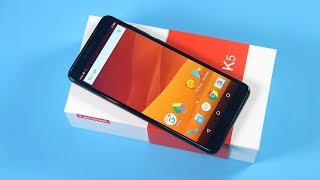 Lenovo K5 (K350T) Unboxing and Hands On Review Video