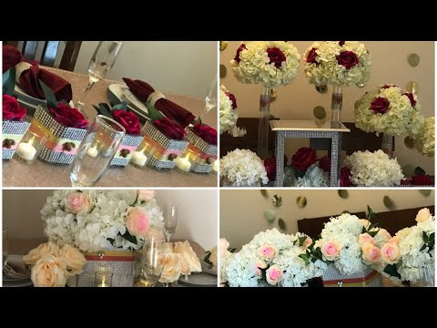 DIY- dollar tree centerpieces for multiple occasions DIY- wedding centerpieces , Diy bling decor