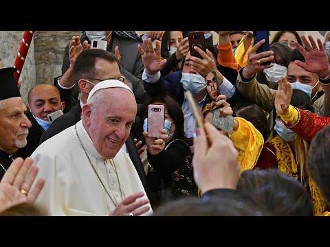 Ιράκ: Ο Πάπας στη Μοσούλη προσεύχεται για τα «θύματα του πολέμου»…