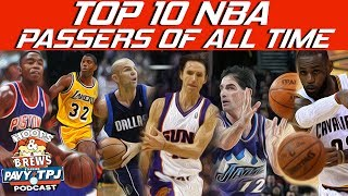Top 10 Passers Of All Time | Hoops N Brews