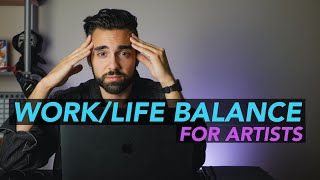 Work-Life BALANCE for Artists & Social Media | Mentor Monday