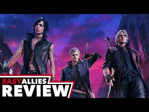 Devil May Cry 5 - Easy Allies Review - YouTube video thumbnail