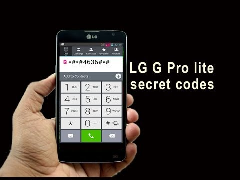 SECRET CODE FOR LG ANDROID PHONES [HIDDEN MENU] - смотреть онлайн на
