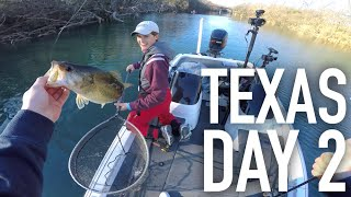 Finesse Fishing Texas Bass -- Texas Trip Day 2