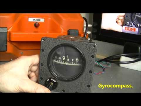 Soviet gyrocompass power up and down