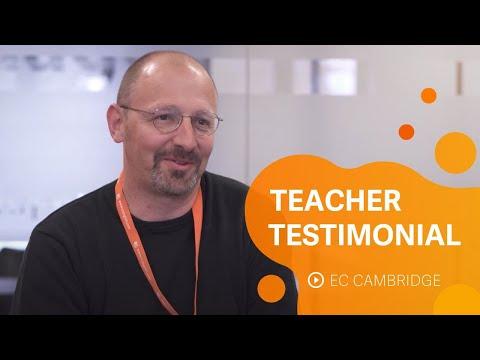 EC Cambridge   Teacher Testimonial, David