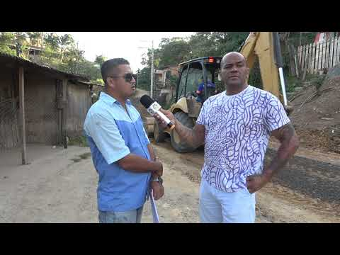 Vai ganhar Asfalto a Rua Guilhermina Xavier Branco na Favela do Brancos