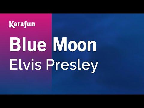 Blue Moon - Elvis Presley | Karaoke Version | KaraFun