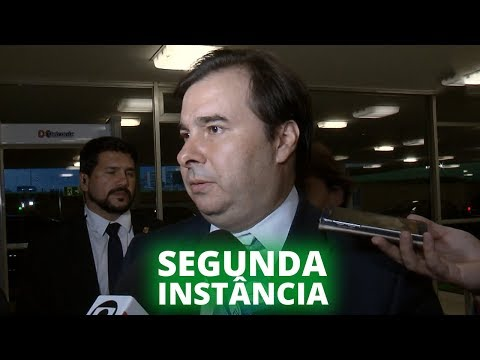 Maia defende alternativas contra morosidade jurídica - 11/11/19