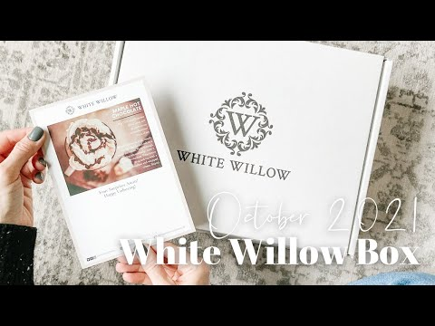 White Willow Box Unboxing October 2021