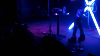 "Angelspit at 9:30 Club - ""Vena cava"" - Crazy dude doing light dance"
