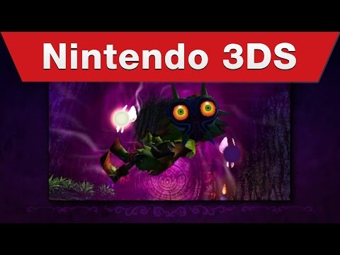 Nintendo 3DS - The Legend of Zelda: Majora's Mask 3D - Announcement Trailer thumbnail