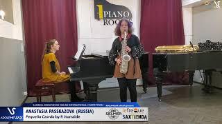 Anastasia RASSKAZOVA plays Pequeña Czarda by P. Iturralde #adolphesax