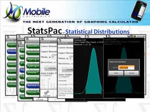 Video of StatsPac - Graphing Calculator