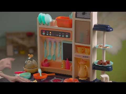 Игровой модуль 889-155 Кухня (вода, свет,звук,пар)