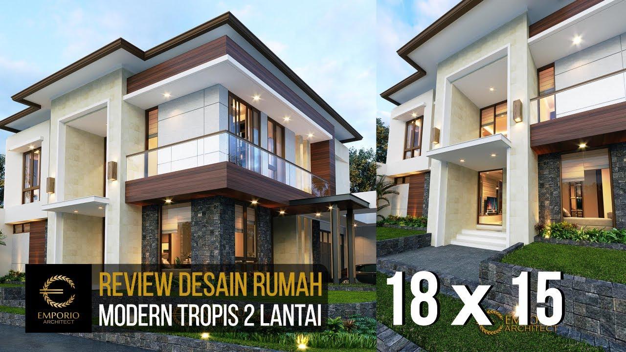 Video 3D Desain Rumah Modern 2 Lantai Ibu Hesti - Bogor, Jawa Barat