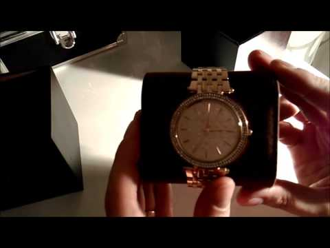 Review Michael Kors MK3398 Uhr Stainless Steel Watch Color Gold