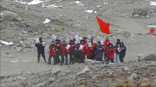«Бессмертный полк» прошел в Антарктиде