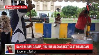 Kanji Rumbi Diburu Masyarakat Lhokseumawe saat Ramadhan