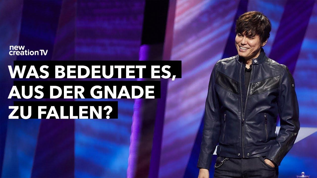 Was bedeutet es, aus der Gnade zu fallen? I New Creation TV Deutsch