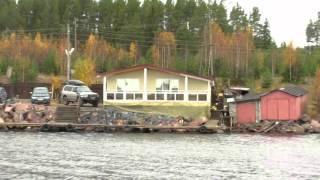 Рыболовная база на онежском озере