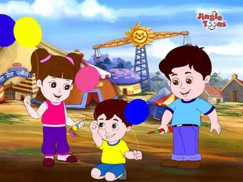 Lakdi ki kathi   Nani Teri Morni   Popular Hindi Children Songs   Animated Songs by JingleToons