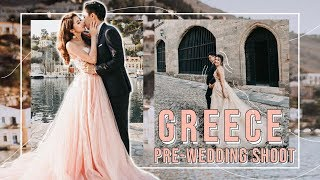 GREECE PRE-WEDDING SHOOT VLOG | MONGABONG