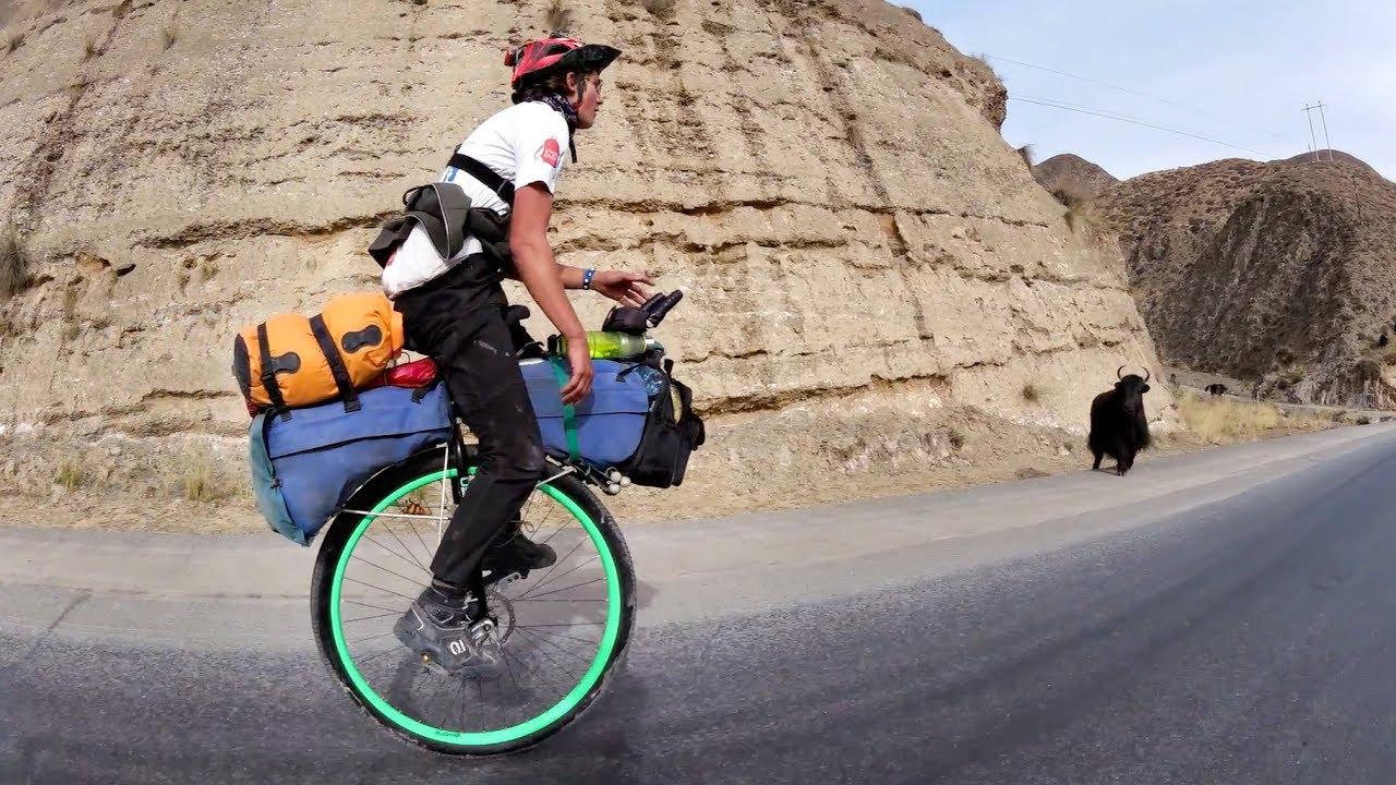 La Cina in monociclo