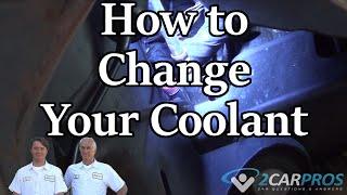 Coolant Drain & Fill Ford Ecoboost F-150 3.5L