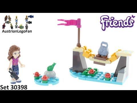 Vidéo LEGO Friends 30398 : Le pont du camp d'aventure (Polybag)