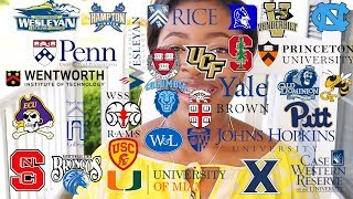 I Applied to Over 30 Schools⎟My College Application Journey & Advice