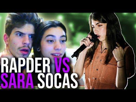 SARA SOCAS vs RAPDER ¿ESPAÑA O MÉXICO?🔥 (REACCIÓN)