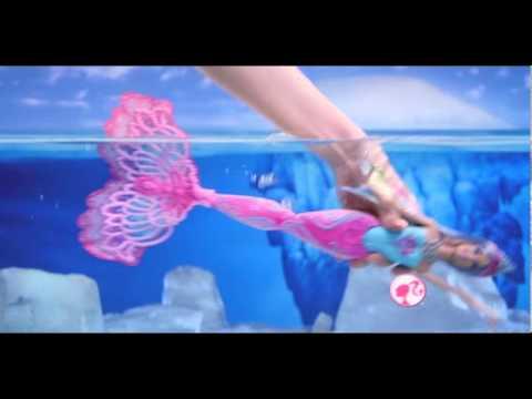 Mattel Lalka Barbie Syrenka Zmieniająca Kolor | zabawkiTV