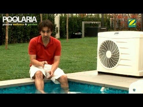 Cómo calentar el agua de la piscina con una bomba de calor