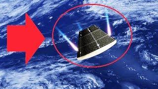 Атака НЛО в форме ОГРОМНОЙ ПУЛИ!  ▶ Видео очевидцев 2018 HD (UFO)