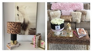 DECORATING IDEAS FOR YOUR HOME USING LEOPARD PRINT