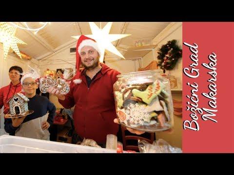 ❤ Рождественская ярмарка в Хорватии ❤ Božićni Grad Makarska ❤ Шеф-кондитер меняет профессию