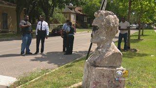 Lincoln Statue Vandalized